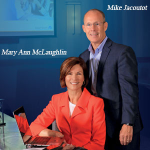 Mary Ann McLaughlin, Managing Partner and Mike Jacoutot, Founder & Managing Partner, Butler Street