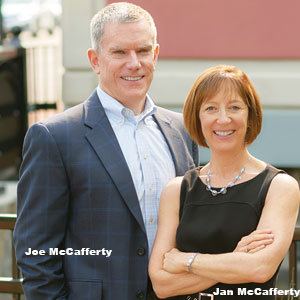 Joe McCafferty, Managing Director and Jan McCafferty, Managing Director, Tandem Solutions