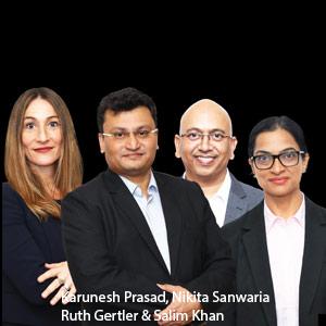 Karunesh Prasad, Founder & CEO; and Nikita Sanwaria; and Ruth Gertler; and Salim Khan, Change Et Al