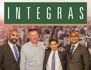Integras Principals - Anthony Picciano, Timothy Kavanagh, Robert Chang and Forhad Razzaque, Integras Intelligence