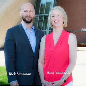 Rick Simmons, CEO and  Amy Simmons, Co-Founder, Telos