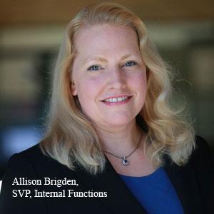 Allison Brigden, SVP,  Internal Functions, PeopleScout