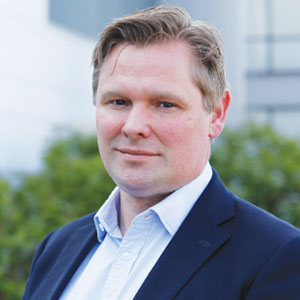 Gunnar Neset, Vice President for Global Business Services Human Relations, Equinor